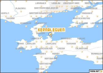 map of Kernaléguen