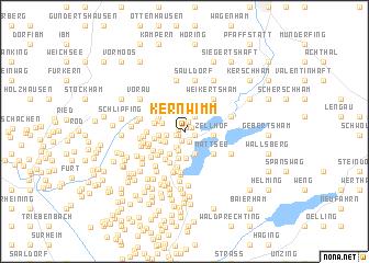 map of Kernwimm