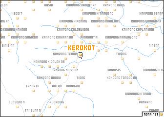map of Kerokot