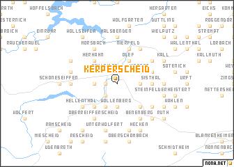 map of Kerperscheid