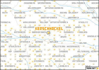 map of Kerschhackel