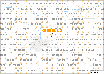map of Kessel-Lo
