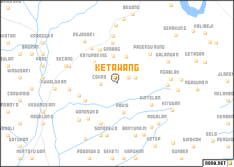 map of Ketawang