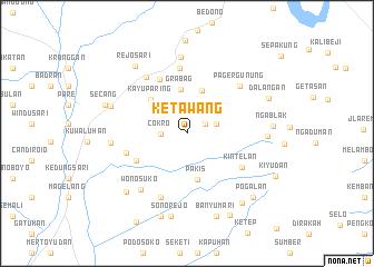 map of Ketawang