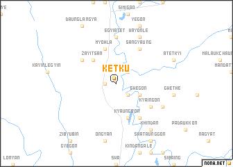 map of Ketku