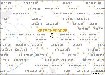 map of Ketschendorf