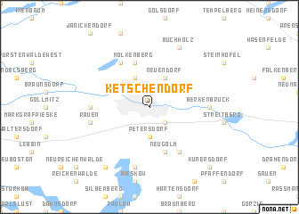 map of Ketschendorf
