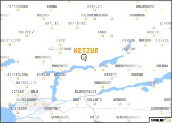 map of Ketzür