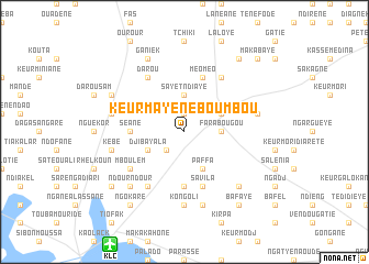 map of Keur Mayene Boumbou