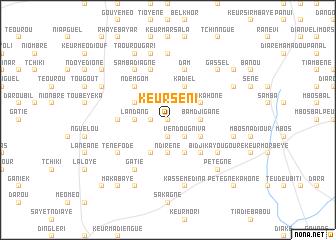 map of Keur Séni