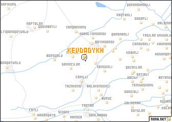 map of Kevdadykh