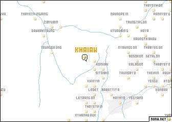 map of Khai-aw
