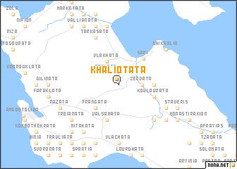 map of Khaliotáta