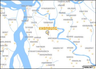 map of Khanaung