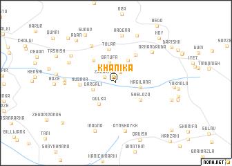 map of Khānika