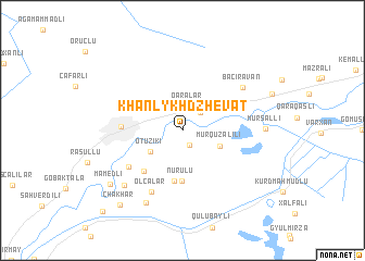 map of Khanlykh-Dzhevat