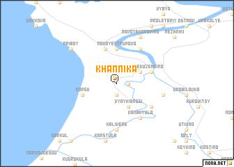 map of Khannika