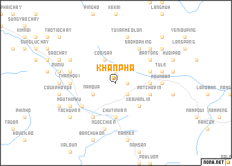 map of Khan Pha