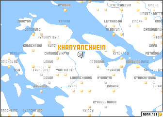 map of Khanyanchwein