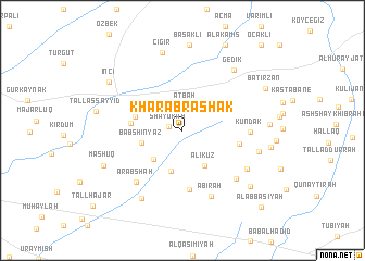 map of Kharāb Rashak