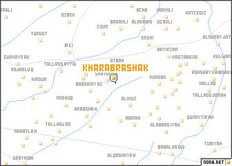 map of Kharāb Rashak