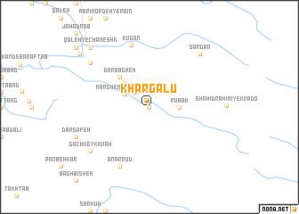 map of Khargalū