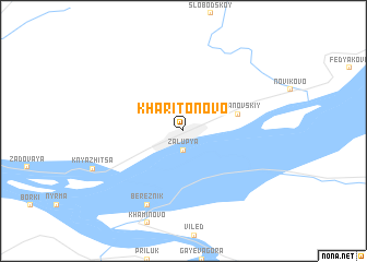 map of Kharitonovo