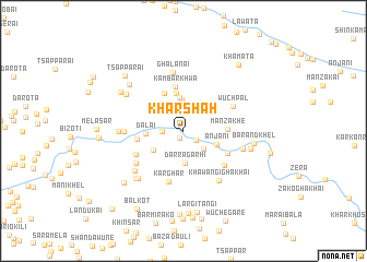 map of Kharshāh