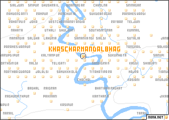 map of Khās Char Mandalbhāg