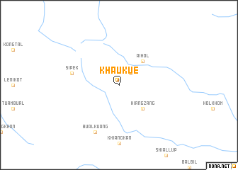map of Khaukue