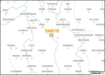 map of Khayin