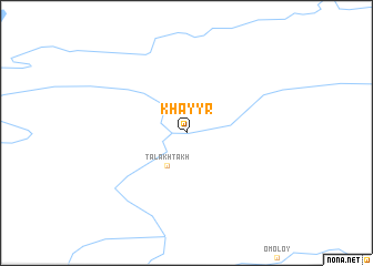 map of Khayyr