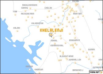 map of Khelālenjī