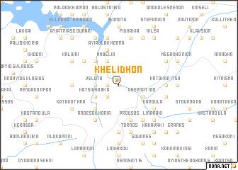 map of Khelidhón
