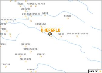 map of Khergalū