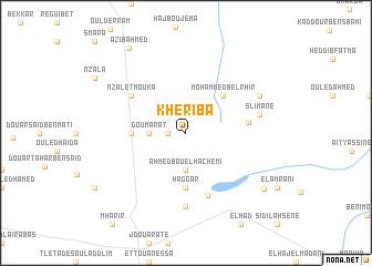 map of Kheriba