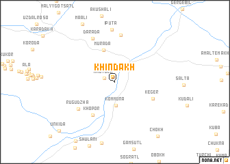 map of Khindakh
