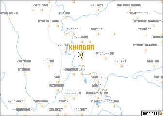 map of Khindan