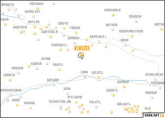 map of Khini