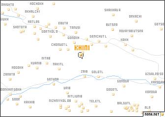 map of Khini