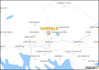map of Khippola