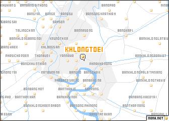 map of Khlong Toei