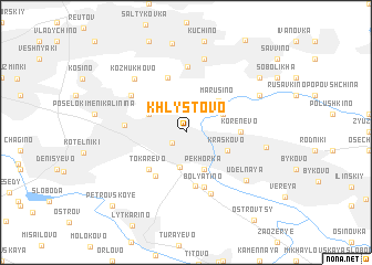 map of Khlystovo