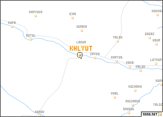 map of Khlyut