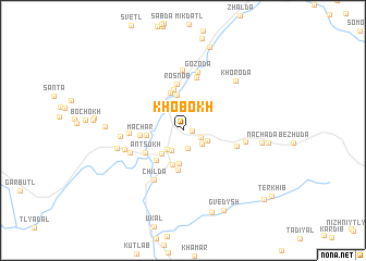 map of Khobokh