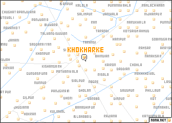 map of Khokharke