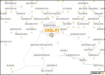 map of Kholmy