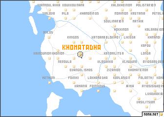 map of Khomatádha