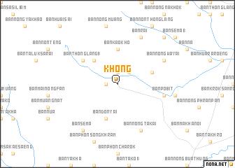 map of Khong