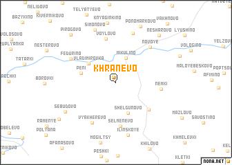 map of Khranevo